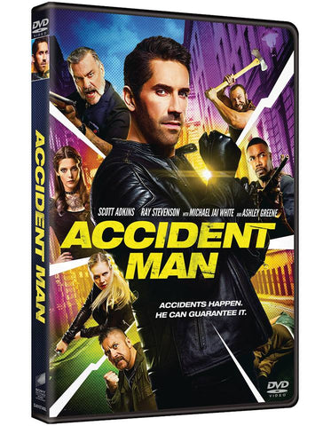 Accident Man (2018) (DVD) (English Subtitled) (Hong Kong Version) - Neo Film Shop