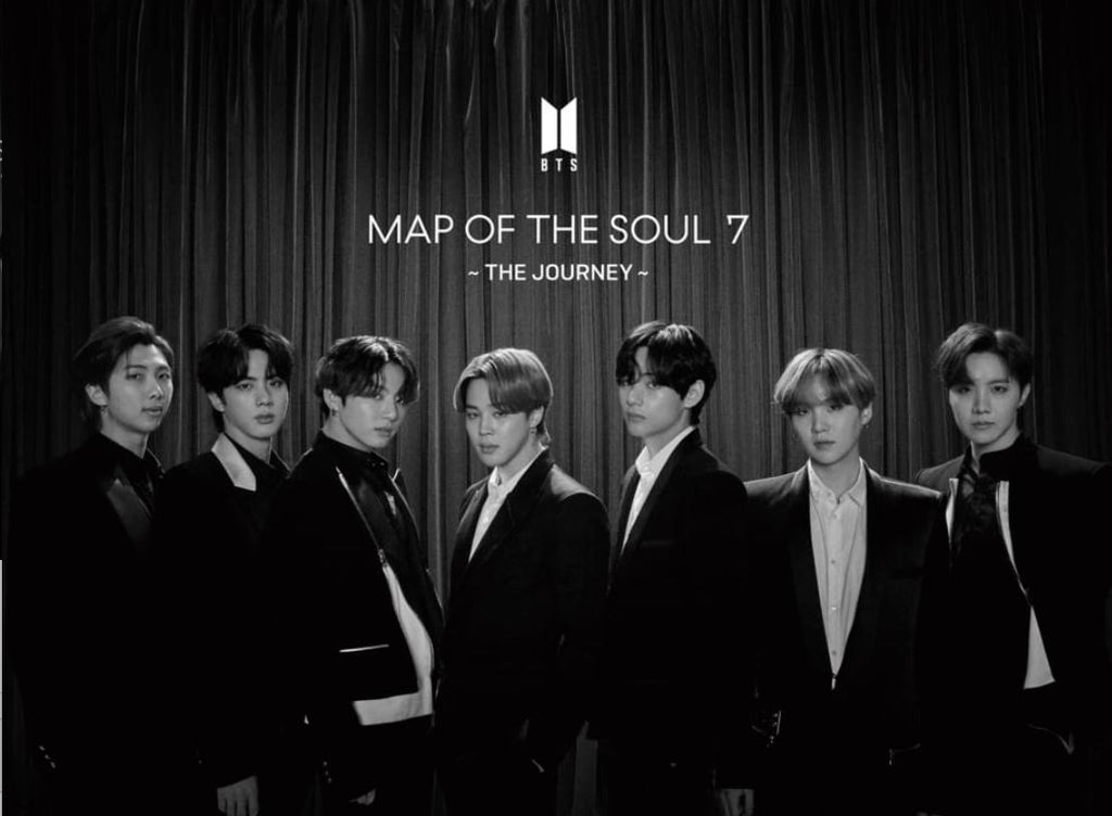 BTS - MAP OF THE SOUL : 7 - THE JOURNEY 初回限定盤C - [Type C] (ALBUM + PHOTOBOOK A) (First Press Limited Edition) (Japan Version)