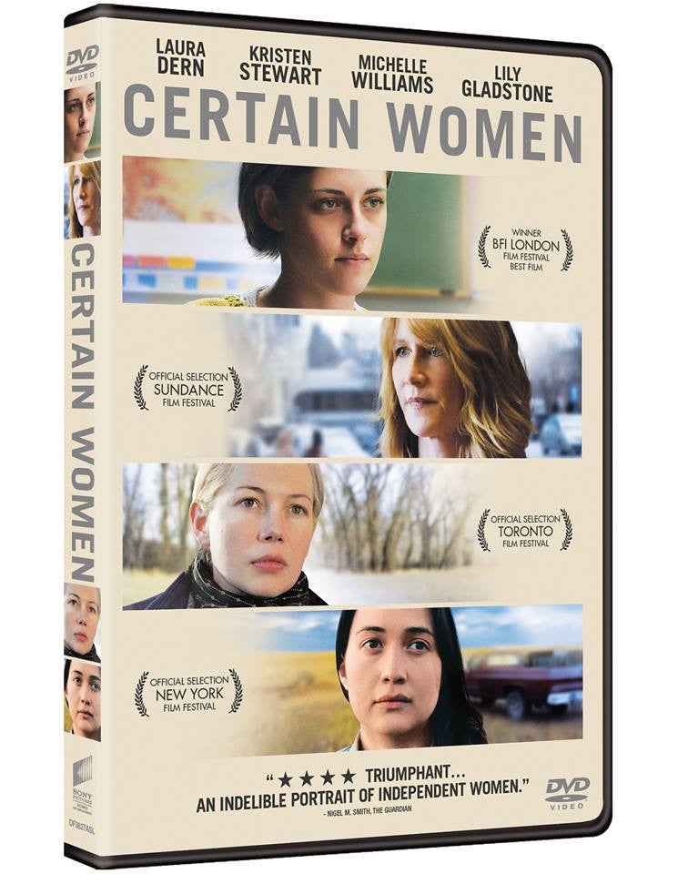 Certain Women 某些女人 (2016) (DVD) (English Subtitled) (Hong Kong Version) - Neo Film Shop