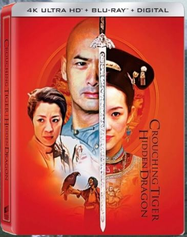 Crouching Tiger Hidden Dragon 臥虎藏龍 (2000) (4K Ultra HD + Blu Ray) (Steelbook) (English Subtitled) (Hong Kong Version)