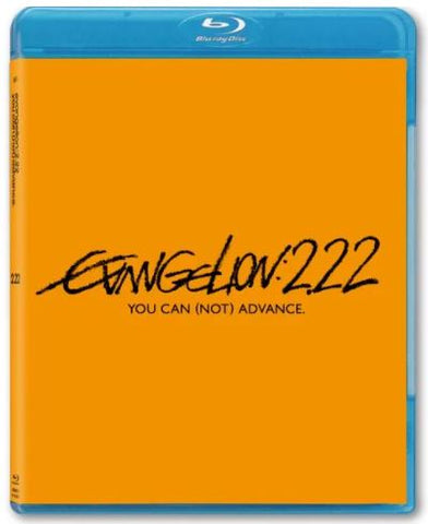 Evangelion 2.22 You Can (Not) Advance 新世紀福音戰士新劇場版:破 (2010) (Blu Ray) (Normal Edition) (English Subtitled) (Hong Kong Version)
