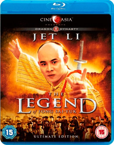 The Legend of Fong Sai-Yuk (1993) (Blu Ray) (English Subtitled) (Dragon Dynasty Edition) (UK Edition)