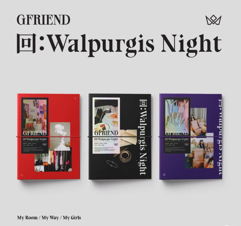 GFRIEND Vol. 3 回 - Walpurgis Night (Random Version) (Korea Edition)