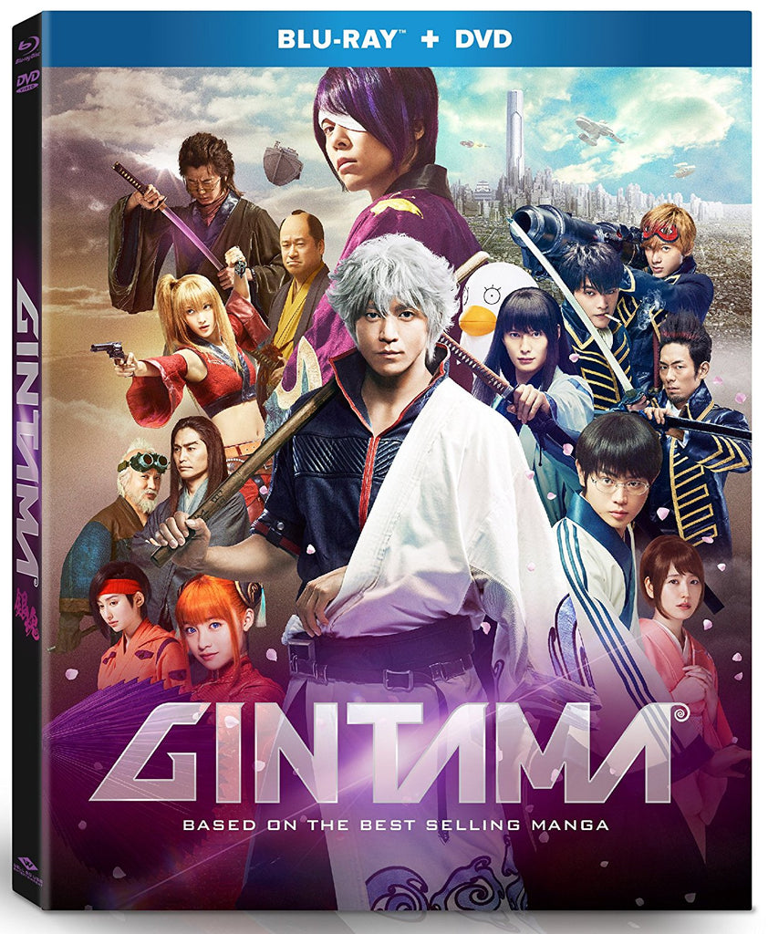 Gintama 銀魂 (2017) (Blu Ray + DVD) (English Subtitled) (US Version) - Neo Film Shop