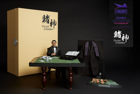 God of Gamblers - Chow Yun Fat Action Figure 賭神 高進 (1/6 Ratio) (STINGRAYZ) (Official Version) - Neo Film Shop