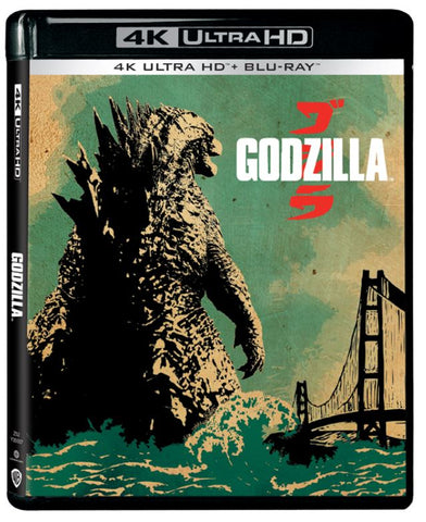 Godzilla 哥斯拉 (2014) (4K Ultra HD + Blu-ray) (English Subtitled) (Hong Kong Version)
