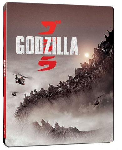 Godzilla 哥斯拉 (2014) (4K Ultra HD + Blu-ray) (Steelbook) (English Subtitled) (Hong Kong Version)