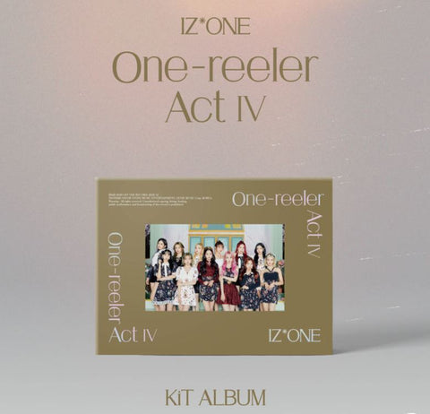 IZ*ONE Mini Album Vol. 4 - One-reeler / Act IV (CD) (KiT Album) (Korea Edition)