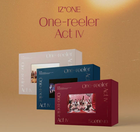 IZ*ONE Mini Album Vol. 4 - One-reeler / Act IV (CD) (Random Version) (Korea Edition)