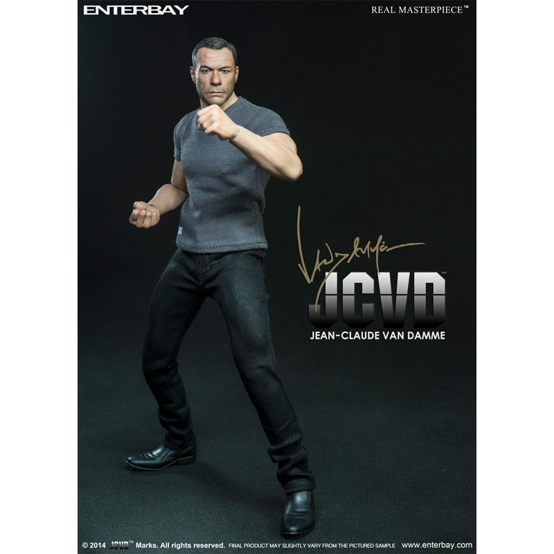 JCVD - Jean-Claude Van Damme Action Figure (1/6 Ratio) (ENTERBAY) (Official Version)