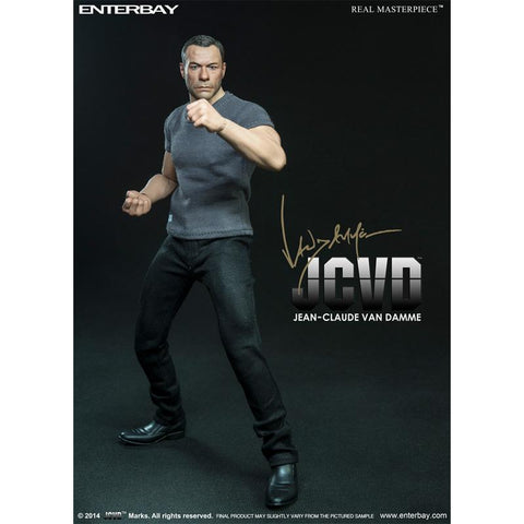 JCVD - Jean-Claude Van Damme Action Figure (1/6 Ratio) (ENTERBAY) (Official Version) - Neo Film Shop