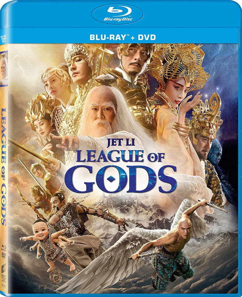 League of Gods 封神榜 (2016) (Blu Ray + DVD) (English Subtitled) (US Version) - Neo Film Shop