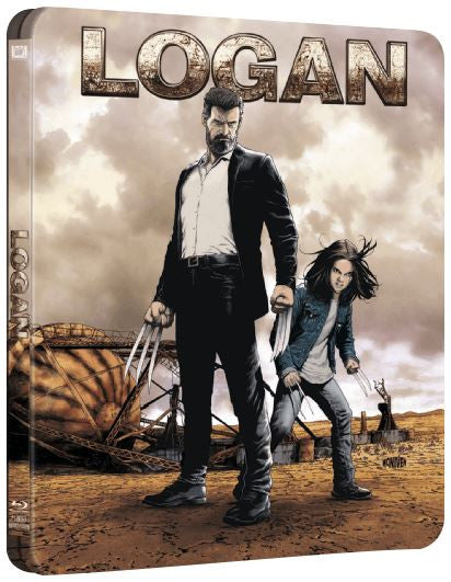 Logan 盧根 (2017) (Blu Ray) (2-Disc Steelbook Edition) (English Subtitled) (Hong Kong Version)