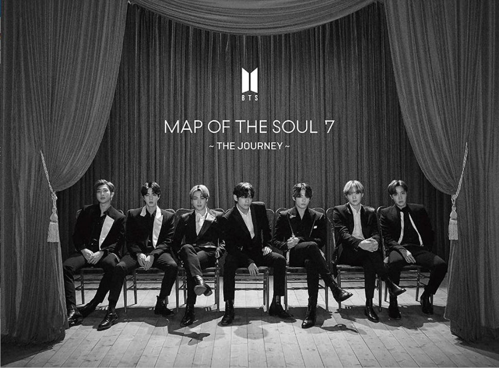 BTS - MAP OF THE SOUL : 7 - THE JOURNEY - [Type A] 初回限定盤A (ALBUM + BLU-RAY + BOOKLET A) (First Press Limited Edition) (Japan Version)
