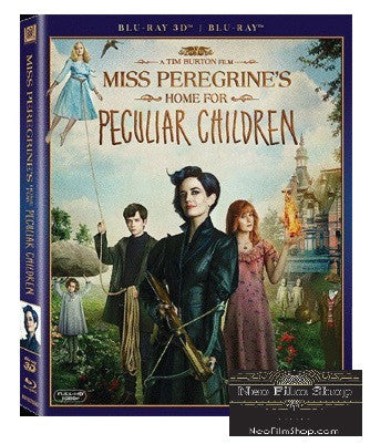 Miss Peregrine's Home for Peculiar Children 柏鳥小姐的童幻世界 (2016) (Blu Ray) (2D + 3D) (English Subtitled) (Hong Kong Version) - Neo Film Shop