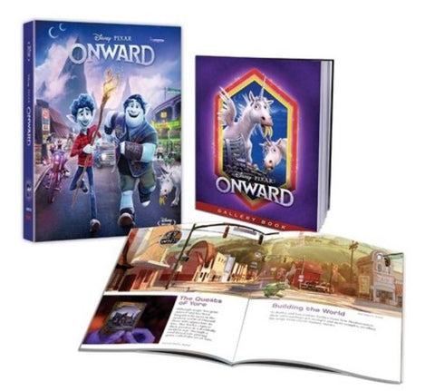 Onward 1/2的魔法 (2020) (Collector's Edition) (Blu Ray) (English Subtitled) (Hong Kong Version)
