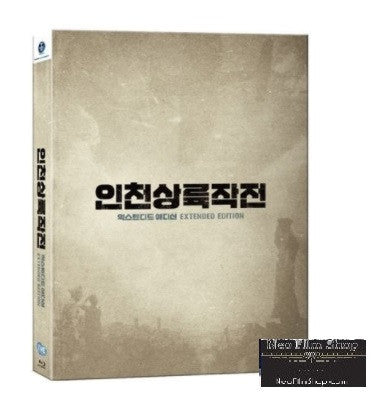 Operation Chromite 代號:鐵鉻行動 (2016) (Blu Ray) (English Subtitled) (Full Slip Numbering Extended Edition) (Limited Edition) (Korea Version)