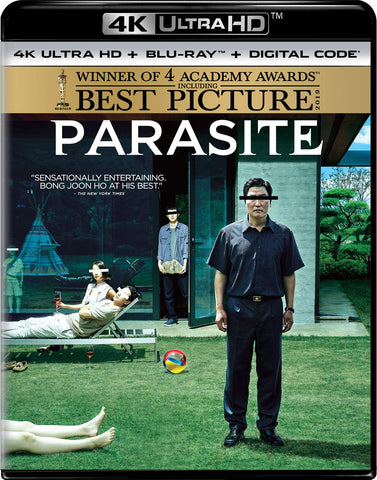Parasite 上流寄生族 (2019) 4K Ultra HD (Blu Ray) (English Subtitled) (US Version)
