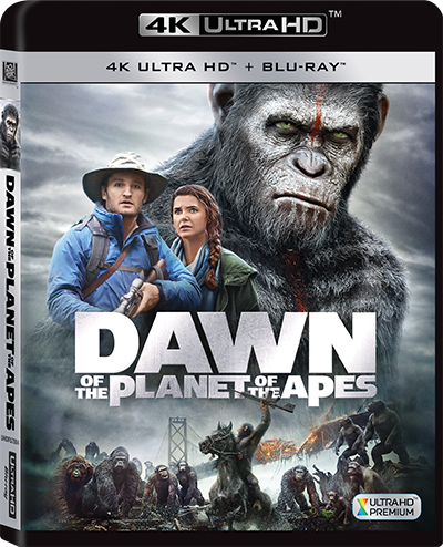Dawn of the Planet of the Apes (2014) (4K Ultra HD + Blu-ray) (English Subtitled) (Hong Kong Version)