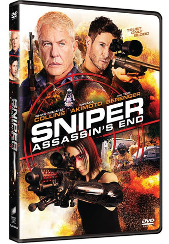 Sniper: Assassin's End 狙擊戰線之刺客終章 (2020) (DVD) (English Subtitled) (Hong Kong Version)