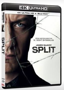 Split 思.裂 (2016) (4K Ultra HD + Blu-ray) (English Subtitled) (Hong Kong Version)