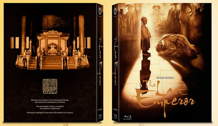 The Last Emperor (1987) (Blu Ray) (Lenticular Full Slip Numbering) (Type B Limited Edition) (Korea Version) - Neo Film Shop
