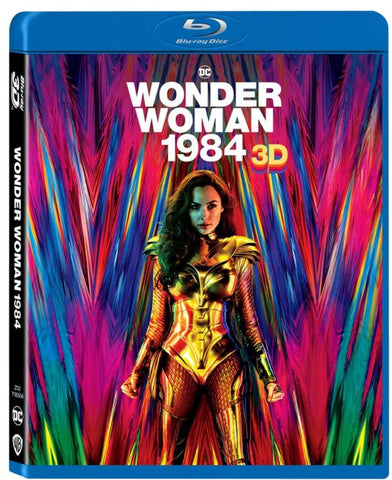 Wonder Woman 1984 神奇女俠1984 (2020) (2D + 3D) (Blu Ray) (English Subtitled) (Hong Kong Version)
