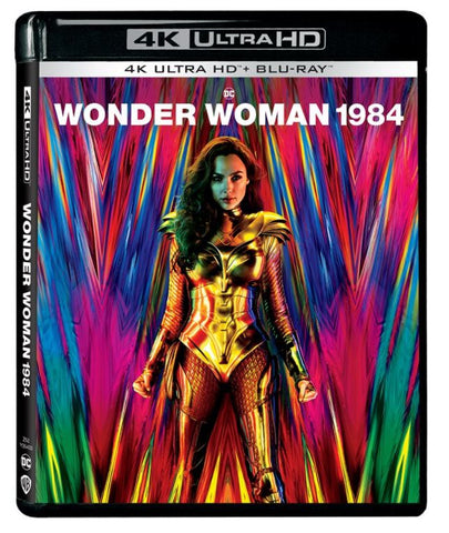 Wonder Woman 1984 神奇女俠1984 (2020) (4K Ultra HD + Blu-ray) (English Subtitled) (Hong Kong Version)