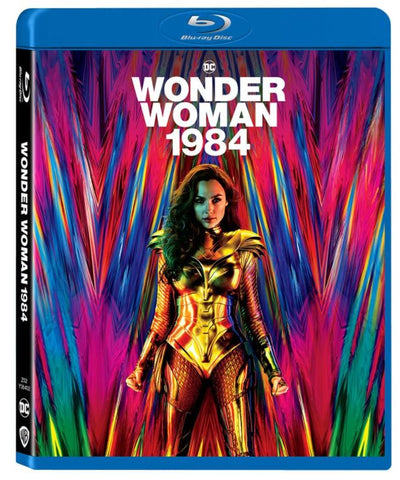 Wonder Woman 1984 神奇女俠1984 (2020) (Blu Ray) (English Subtitled) (Hong Kong Version)
