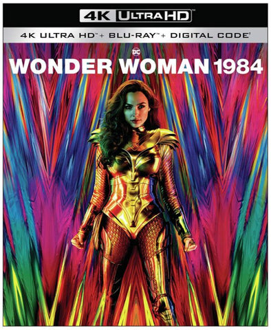 Wonder Woman 1984 (2020) (4K Ultra HD + Blu-ray + Digital) (English Subtitled) (US Version)