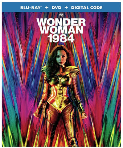 Wonder Woman 1984 (2020) (Blu-ray + DVD + Digital) (English Subtitled) (US Version)