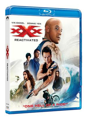 xXx3: Return of Xander Cage (2017) (Blu Ray) (2D) (English Subtitled) (Hong Kong Version)