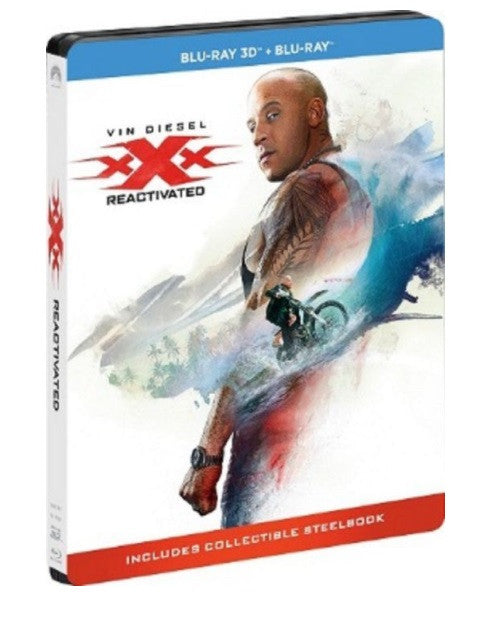 xXx: Return of Xander Cage 3X反恐暴族:重火力回歸 (2017) (Blu Ray) (2D + 3D) (Steelbook) (English Subtitled) (Hong Kong Version)