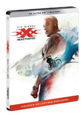 xXx: Return of Xander Cage 3X反恐暴族:重火力回歸 (2017) (4K Ultra HD + Blu-ray) (Steelbook) (English Subtitled) (Hong Kong Version)