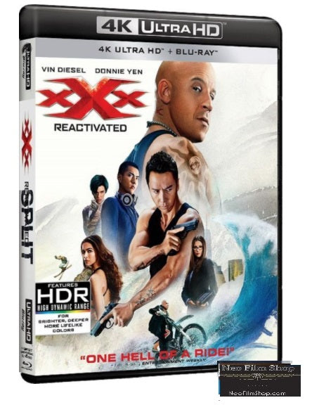 xXx3: Return of Xander Cage (2017) (4K Ultra HD + Blu Ray)(English Subtitled) (Hong Kong Version)