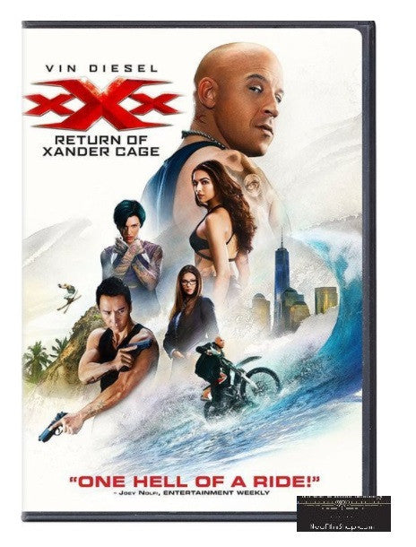 xXx: Return of Xander Cage 3X反恐暴族:重火力回歸 (2017) (DVD) (English Subtitled) (Hong Kong Version)