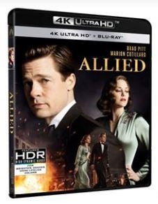 Allied 伴諜同盟 (2016) (4K Ultra HD + Blu-ray) (English Subtitled) (Hong Kong Version)