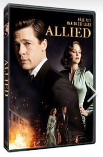 Allied 伴諜同盟 (2016) (DVD) (English Subtitled) (Hong Kong Version)