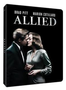 Allied 伴諜同盟 (2016) (Blu Ray) (Steelbook Limited Edition) (English Subtitled) (Hong Kong Version)