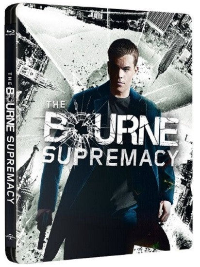 The Bourne Supremacy 叛諜追擊 2: 機密圈套 (2004) (Blu Ray) (Steelbook) (English Subtitled) (Hong Kong Version) - Neo Film Shop