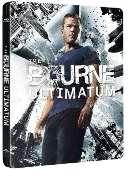 The Bourne Ultimatum (2007) (Blu Ray) (Steelbook) (English Subtitled) (Hong Kong Version) - Neo Film Shop