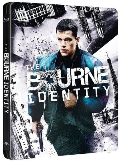 The Bourne Identity (2002) (Blu Ray) (Steelbook) (English Subtitled) (Hong Kong Version) - Neo Film Shop