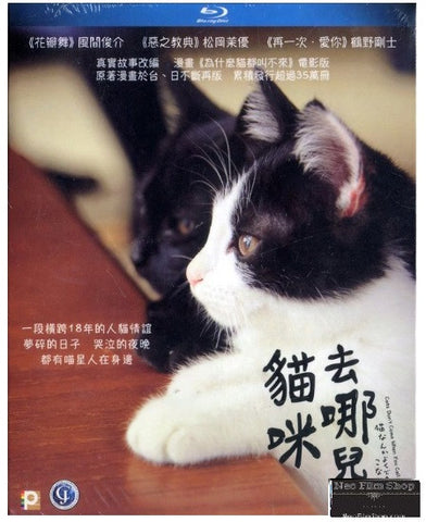 Cats Don't Come When You Call 貓咪去哪兒 (2016) (Blu Ray) (English Subtitled) (Hong Kong Version)