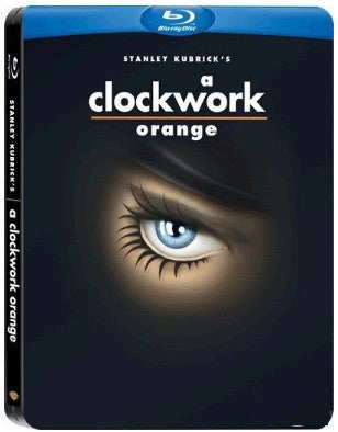 A Clockwork Orange 發條橙 (1971) (Blu Ray) (Steelbook) (English Subtitled) (Hong Kong Version) - Neo Film Shop