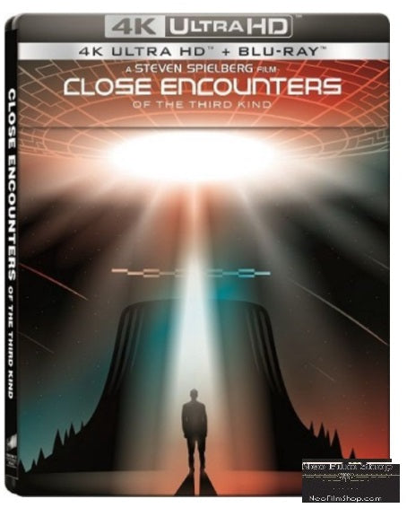 Close Encounters Of The Third Kind (1977) (4K Ultra HD + Blu Ray) (Steelbook) (English Subtitled) (Hong Kong Version)