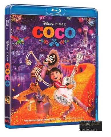 Coco 玩轉極樂園 (2017) (Blu Ray) (English Subtitled) (Hong Kong Version) - Neo Film Shop