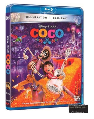 Coco 玩轉極樂園 (2017) (Blu Ray) (2D+3D) (English Subtitled) (Hong Kong Version) - Neo Film Shop