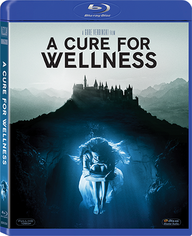 A Cure for Wellness 藥到命除 (2016) (Blu Ray) (English Subtitled) (Hong Kong Version)