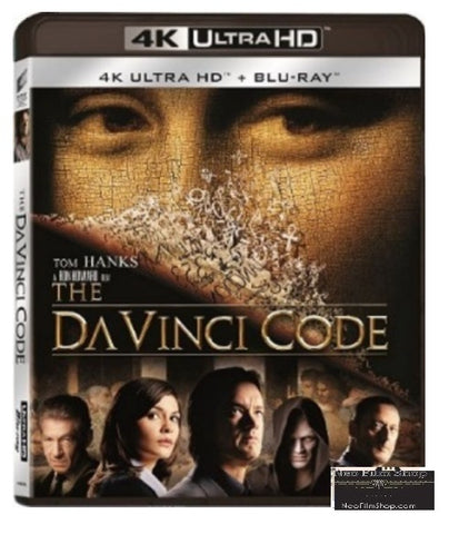 The Da Vinci Code 2006 4k Ultra Hd Blu Ray English Subtitled Neo Film Shop