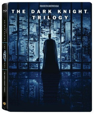The Dark Knight Trilogy (Blu Ray) (5 Discs) (Jumbo Steelbook) (English Subtitled) (Hong Kong Version) - Neo Film Shop